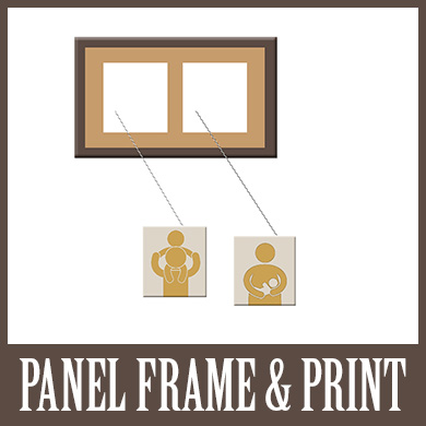 Matted Panel Frames and Prints
